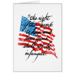 RKBA Shall Not Be Infringed Greeting Card