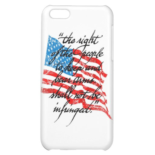 RKBA Shall Not Be Infringed iPhone 5C Case