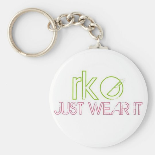 RKE JUST WEAR IT KEY RING