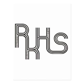 RKHS Debate/Congress/Speech (White) Product Postcard