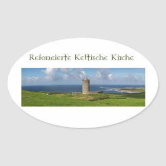 RKK Logo Gifts Oval Sticker