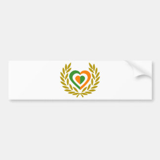 rlanda-laure-heart bumper sticker