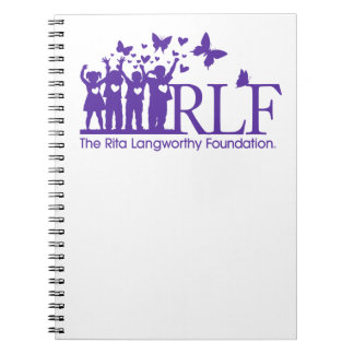 RLF Logo Notebook, 80 pages Spiral Notebooks