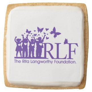 RLF Logo Square Shortbread Cookies - One Dozen