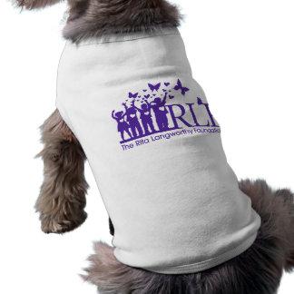 RLF Signature Logo Doggie Ribbed Tee Shirt Pet Tee Shirt