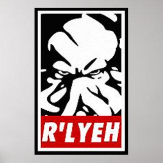 R'LYEH POSTER