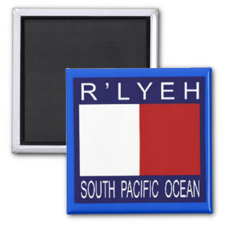 R'LYEH South Pacific Imán Cuadrado