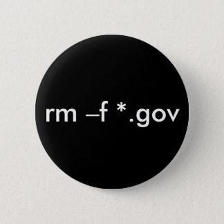 rm –f *.gov --Delete all government files Button