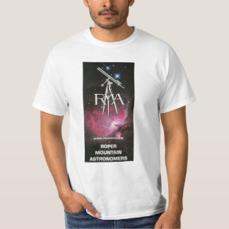 RMA Logo White Astronomy T-Shirt