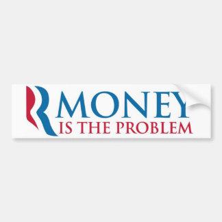 Rmoney es el problema pegatina de parachoque