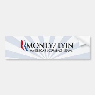 RMONEY LYIN.png Bumper Sticker