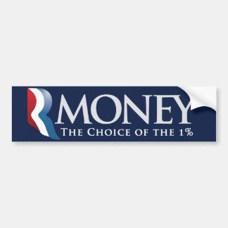 RMoney Romney Parody Bumper Sticker Car Bumper Sticker