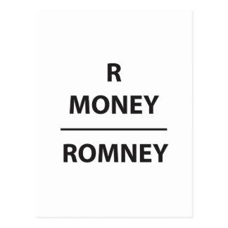 RMONEY  - romney Postcard