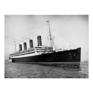 RMS Aquitania Impresiones