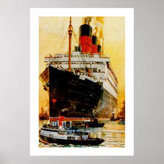 RMS Berengaria Poster