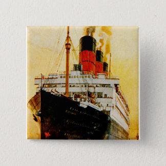 RMS Berengaria Pinback Button