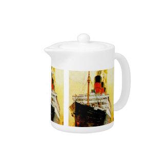 RMS Berengaria Teapot