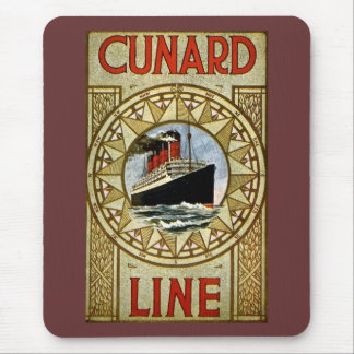 RMS Berengaria Vintage Cunard Line Mouse Pad