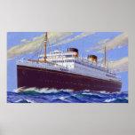 RMS Britannic Print