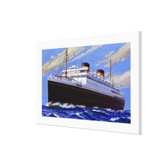 RMS Britannic ~ XL Canvas Print