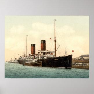 RMS Campania Poster