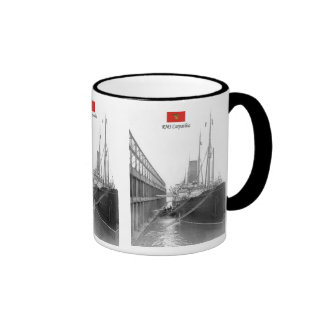 RMS Carpathia Ringer Coffee Mug