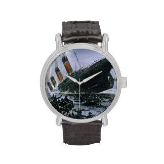 RMS de hundimiento titánico Reloj De Mano