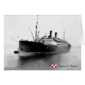 RMS Empress of Ireland Cards