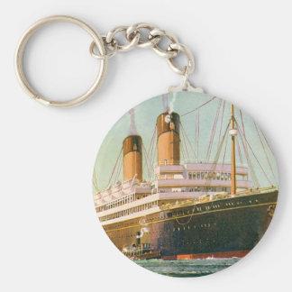 RMS Laurentic Llavero Redondo Tipo Pin