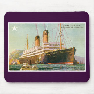 RMS Laurentic Mouse Pad
