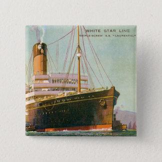 RMS Laurentic Pinback Button