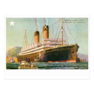 RMS Laurentic Postales
