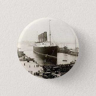 RMS Lusitania Pinback Button