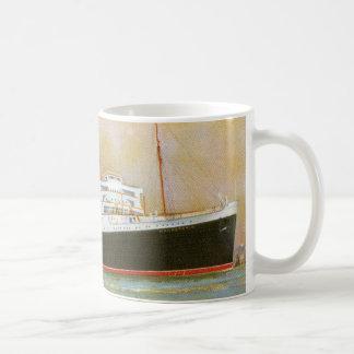 RMS Mauretainia Classic White Coffee Mug