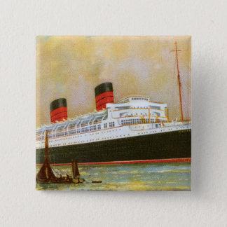 RMS Mauretainia Pinback Button