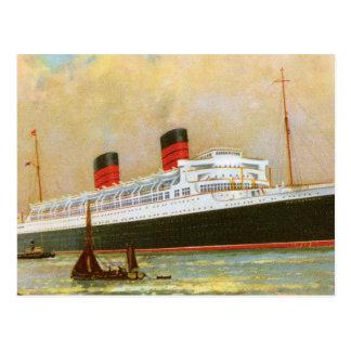 RMS Mauretainia Postcard