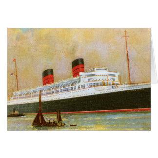 RMS Mauretainia Tarjeta De Felicitación