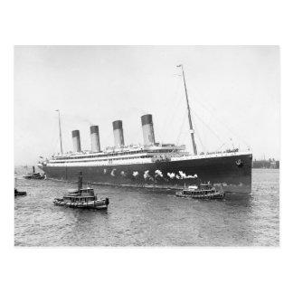 RMS Olympic, 1911 Tarjetas Postales