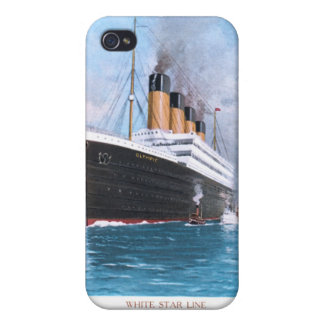RMS Olympic iPhone 4/4S Covers