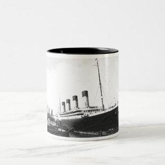 RMS Olympic Two-Tone Coffee Mug