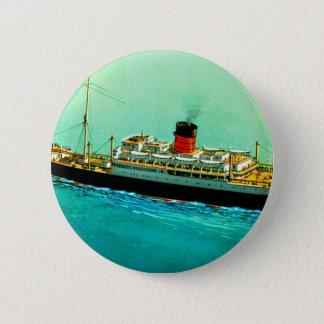 RMS Parthia Pinback Button