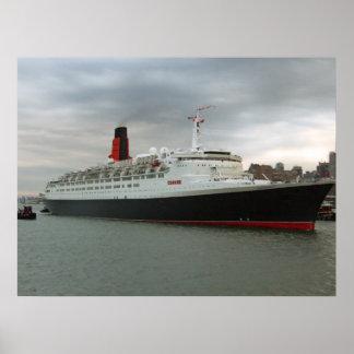 RMS Queen Elizabeth 2 Poster