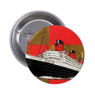 RMS Queen Mary Pinback Button