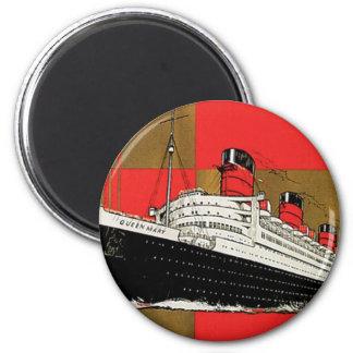 RMS Queen Mary Imán Redondo 5 Cm