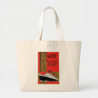 RMS Queen Mary Jumbo Tote Bag