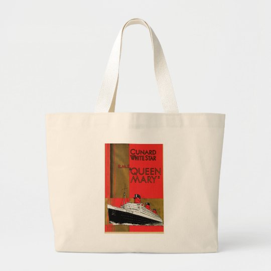 RMS Queen Mary Large Tote Bag