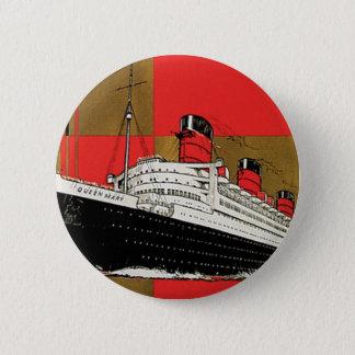 RMS Queen Mary Pinback Button