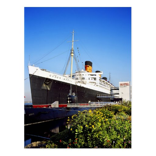 RMS Queen Mary Postales
