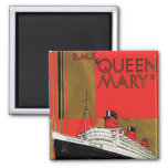 RMS Queen Mary Refrigerator Magnet