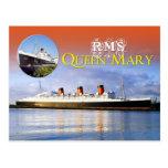 RMS Queen Mary Tarjeta Postal
